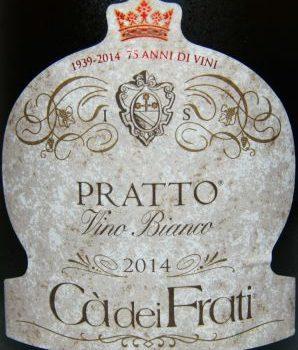 """""""Pratto"""" 2014 – Ca' dei Frati"""