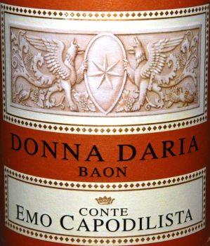 "Fior d'Arancio ""Donna Daria"" – Conte Emo Capodilista"