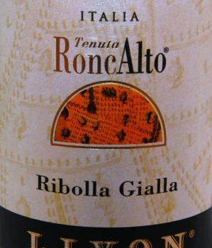 Ribolla Gialla 2016 – Tenuta Roncalto (Livon)