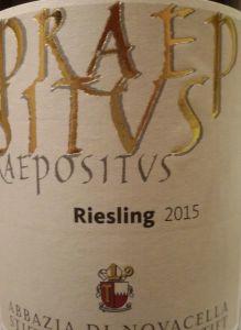 riesling praepositus 2015