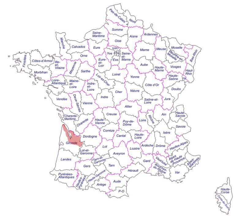 Enografia francia bordeaux