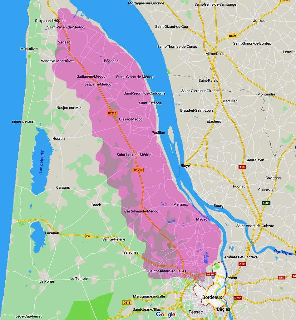 Médoc Bordeaux Francia