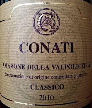 Amarone Classico 2010 – Conati