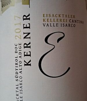 Kerner 2017 – Cantina Valle Isarco