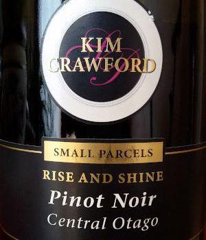 "Pinot Noir ""Rise and Shine"" 2013 – Kim Crawford"