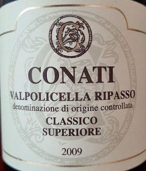 Valpolicella Ripasso Classico Superiore 2009 – Conati