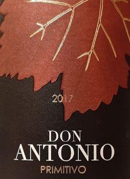 """Primitivo """"Don Antonio"""" 2017 – Coppi"""