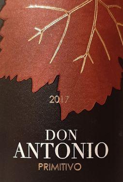 Primitivo Don Antonio Coppi etichetta