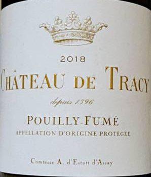Château de Tracy 2018, Comtesse A. d'Estutt d'Assay
