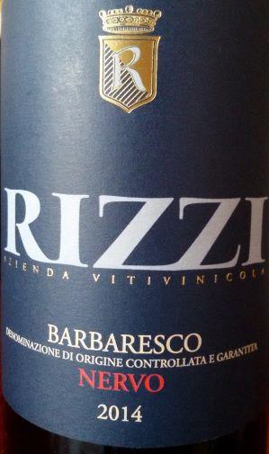 Barbaresco Nervo 2014 Rizzi