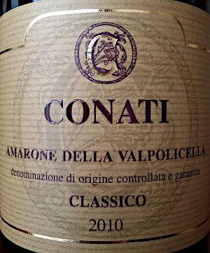 Amarone Conati 2010