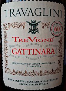 Gattinara Tre Vigne 2012 Travaglini