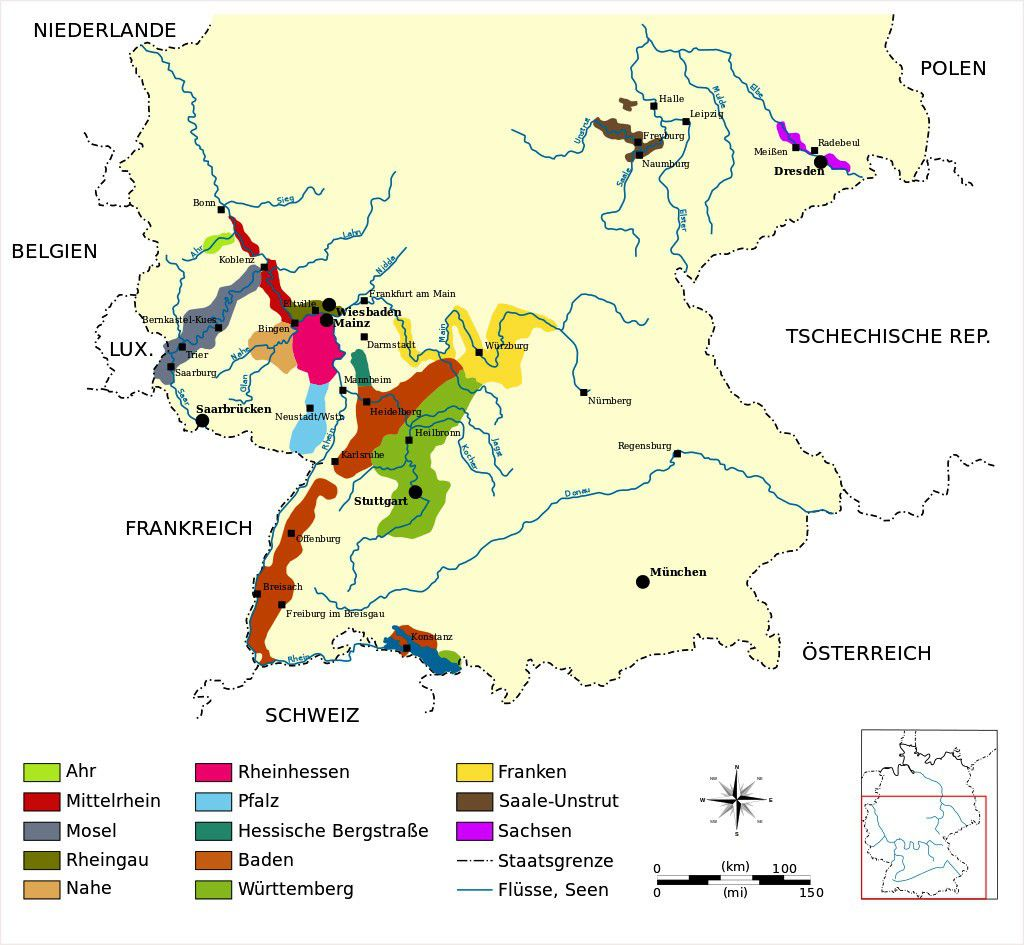 Regioni viticole Germania