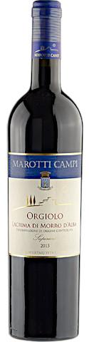 Orgiolo 2018 Marotti Campi