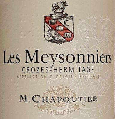 Les Meysonniers 2018 M. Chapoutier